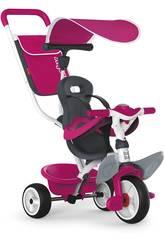 Dreirad 3 in 1 Rosa Baby Balade 2 Smoby 741101