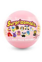 Surprizamals Série 2 Boule avec Peluche Surprise de 6 cm. Beysal SUR20250