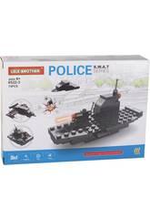 Vehículos de Guerra Policía S.W.A.T Bloques de Construcción 74 Piezas