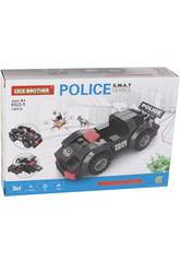 Véhicule d'Action Police S.W.A.T Blocs de Construction 74 Pièces