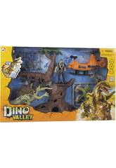 Dino Valley Ataque del Dinosaurio en la Selva