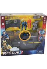 Rettungswagen mit Figur und Zubehör
