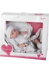 Muñeca Elegance 42 cm. Real Baby Gris Arias 65138