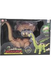 Dinosaurio 45 cm. Andador con Luz, Sonido y 3 huevos