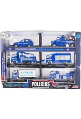 Vehículos de Policía Flota Completa