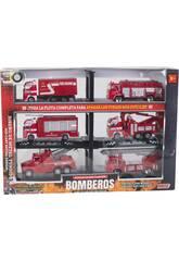 Véhicules de Pompiers Flotte Complète
