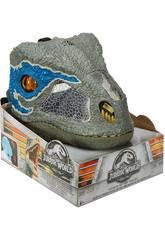 Jurassic World Dino Masque Velociraptor Blue Mattel FMB74
