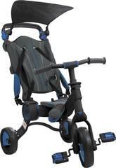 Tricycle Galileo Noir et Bleu Toimsa 50512