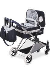 Puppenwagen 3X1 Blau Classic Romantic De Cuevas 80725