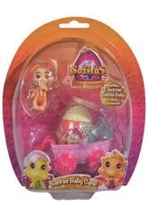 Baby Princess Safira con Huevo Sorpresa y Accesorios
