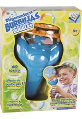 Máquina Lanza Burbujas con Jabón