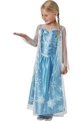 Disfraz Niña Elsa Classic Talla S Rubies 620975-S