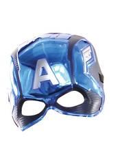 Avenger Maschera per bambini Capitan America Rubies 39217