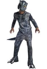 Costume Bimbo Velociraptor Blue Classic S Rubies 641180-S