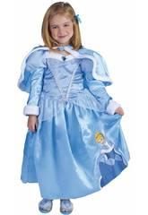 Déguisement Enfant fille Cendrillon Winter Taille L Rubies 887090-L