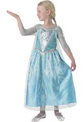 Disfraz de Menina Elsa Premium Tamanho S Rubies 610869-S