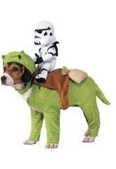 Costume per Animali Star Wars Dewback con Jinete Taglia unica Rubies 886582