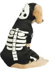 Disfarce de Mascote Esqueleto Brilha no escuro Tamanho M Rubies 887825-M