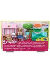 Barbie Bambola Chelsea e Playset dell'Orto Mattel FRH75