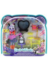 Enchantimals Poupée Sage Skunk et sa Batterie Rockera Mattel FRH41