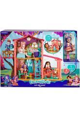 Enchantimals Súper Casa Del Bosque y Danessa Mattel FRH50