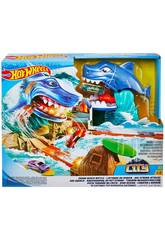Hot Wheels Tiburón Megadestrucción Mattel FNB21