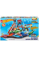 Hot Wheels Crocodilo Túnel De Lavado Mattel FTB67
