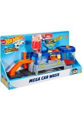 Hot Wheels Autolavaggio Playset per Macchinine con un Nastro Trasportatore Automatico Mattel FTB66