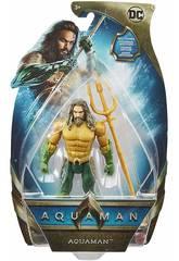Aquaman Figura Básica 15 cm. Mattel FWX59