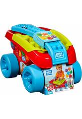 Mega Bloks Mangia Forme Vagoncino Mattel FVJ47
