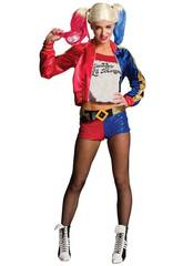Kostüm Frau Harley Quinn Größe S Rubies 820118-S
