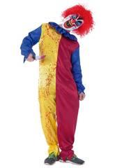 Costume Bimbo Pagliaccio Psycho Tween Rubies S8366-TW