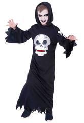 Déguisement Enfant Skull Glouton Taille L Rubies S8385-L