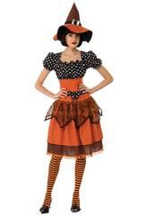 Disfraz Mujer Polka Witch Talla M Rubies 821018