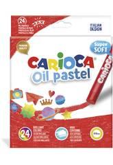 Oil Pastel 24 Unidades Carioca 43278