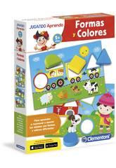 Jugando Aprendo Formas y Colores Clementoni 65592