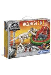 Jurassic World Archéojouant T-Rex et Volcan Clementoni 19064