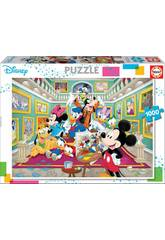 Puzzle 1000 Galerie d'Art de Mickey Educa 17695