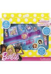 Barbie Set Reloj de Maquillaje Markwins 98033