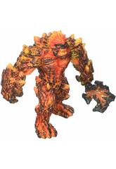 Eldrador Creatures Gólem de Lava com Arma Schleich 42447
