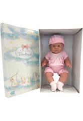 Bambola Lily 46 cm. Rosa con cappello e scarpette JC Toys 18803