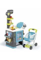 City Market Supermarkt mit Wagen Smoby 350218