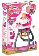 Baby Nurse Hochstuhl mit Accessoires Smoby 220310