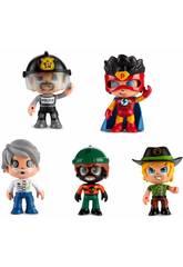 Pinypon Action Pack 5 Figurines avec Accessoires Famosa 700014490