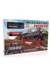 Comboio Elétrico Expresso Mercadorias Pequetren 100