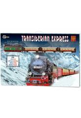 Express Transsibirischer Elektrischer Zug Metallischer Pequetren 450
