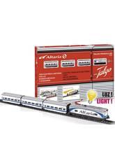 Tren Eléctrico Altaria con Locomotora Blanca Pequetren 507