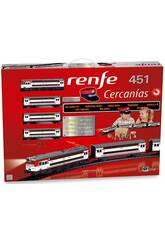 Tren Eléctrico Renfe Cercanías 451 Pequetren 685