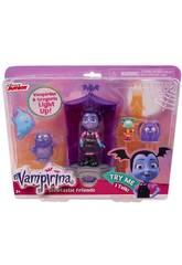 Vampirina Centre de Jeu Glowtastic Friends Bandai 78020