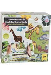 Manta Zoo Puzzle Eva 12 peças